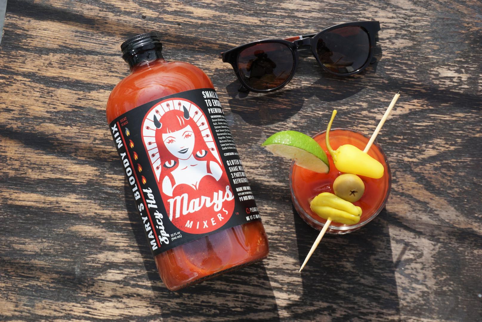 Sunny Days with Mary's Mixers