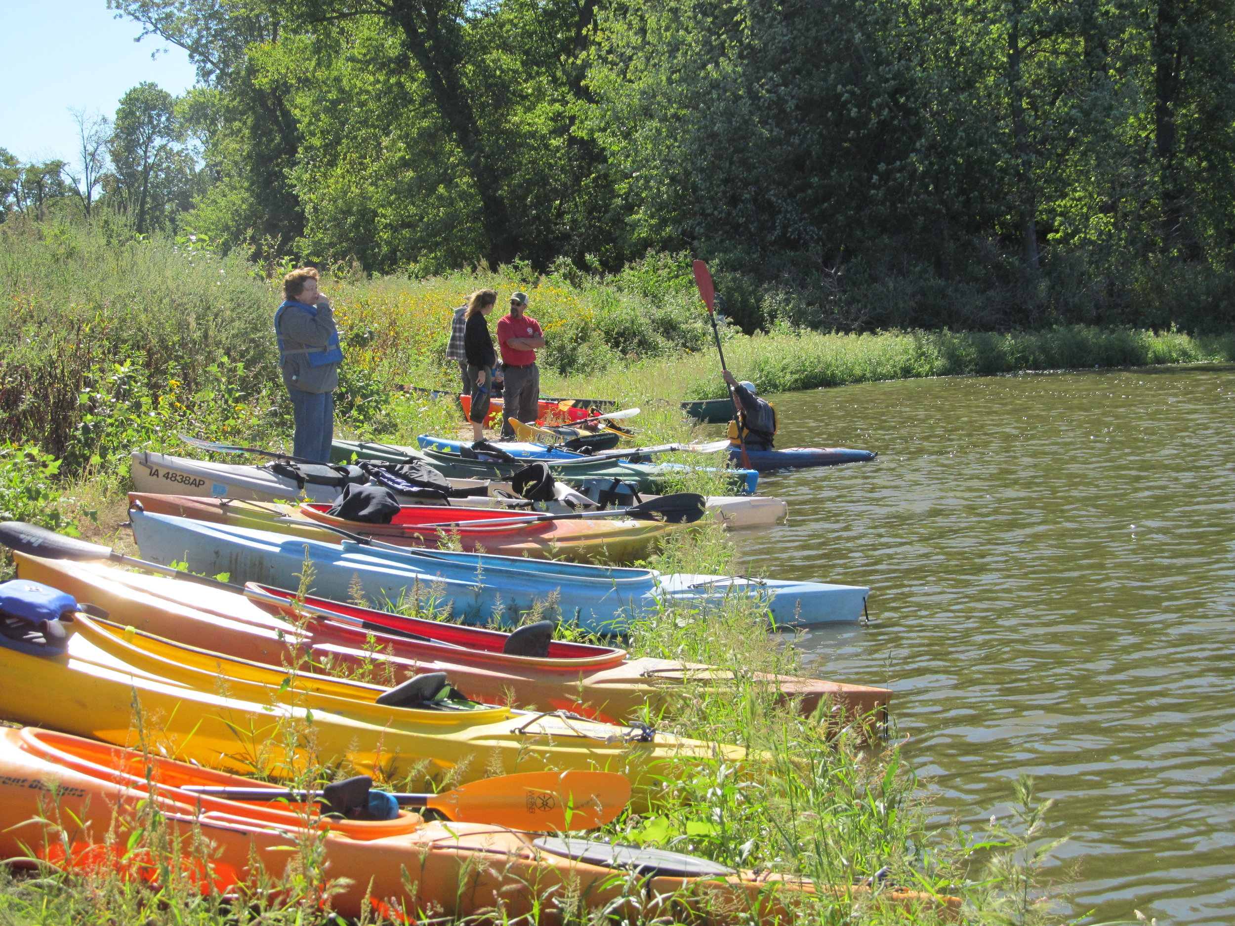 Paddle on the Odessa Water Trail, 2012