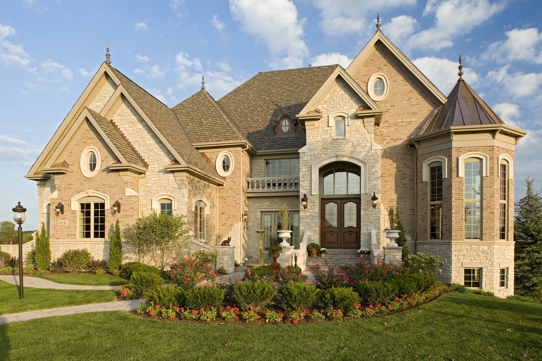 Prairie Lakes Custom Home by Southampton in St. Charles IL 60175.
