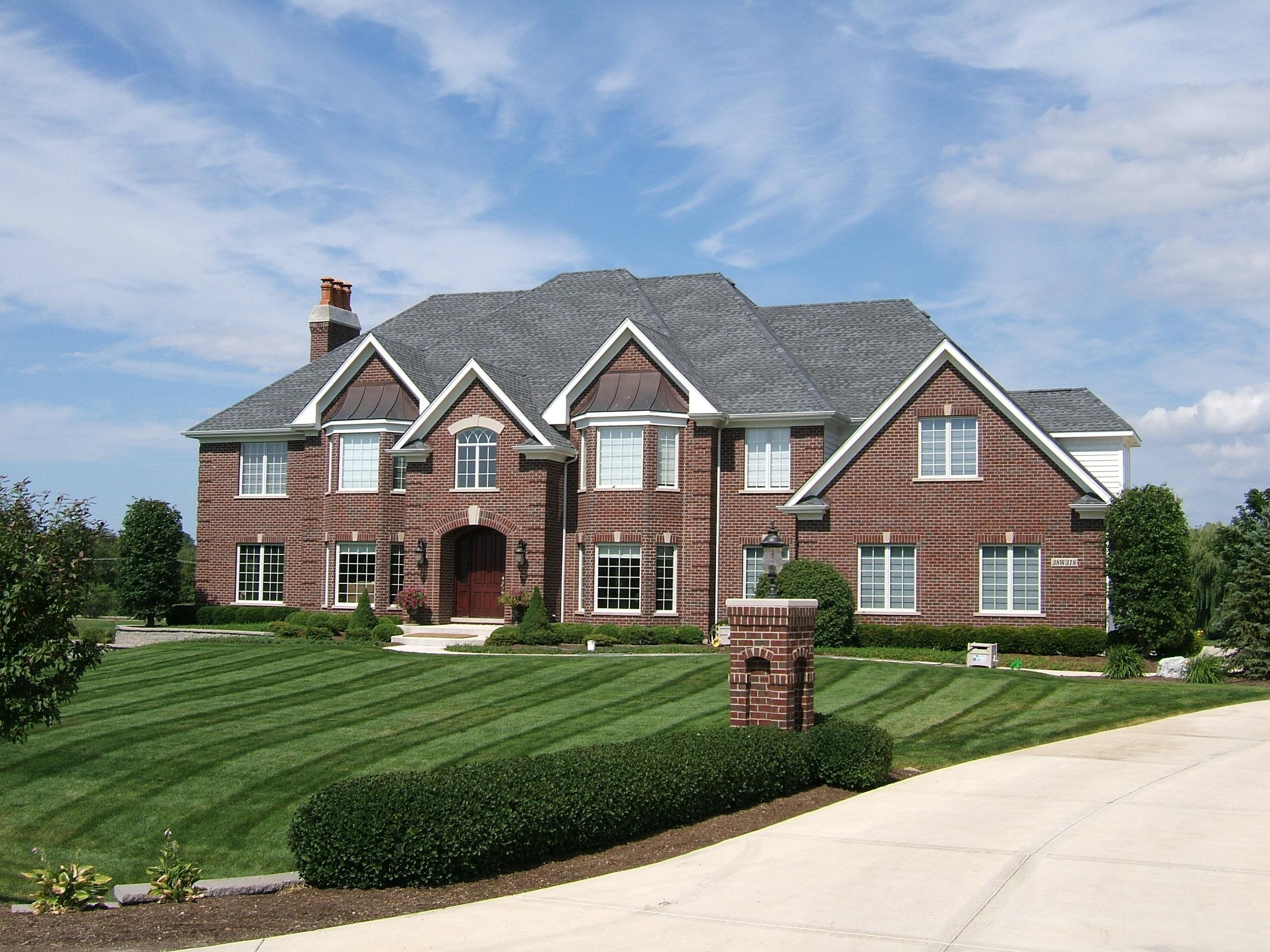 Burr Hill Custom Home. St. Charles IL 60175. Black Hawk Country Club