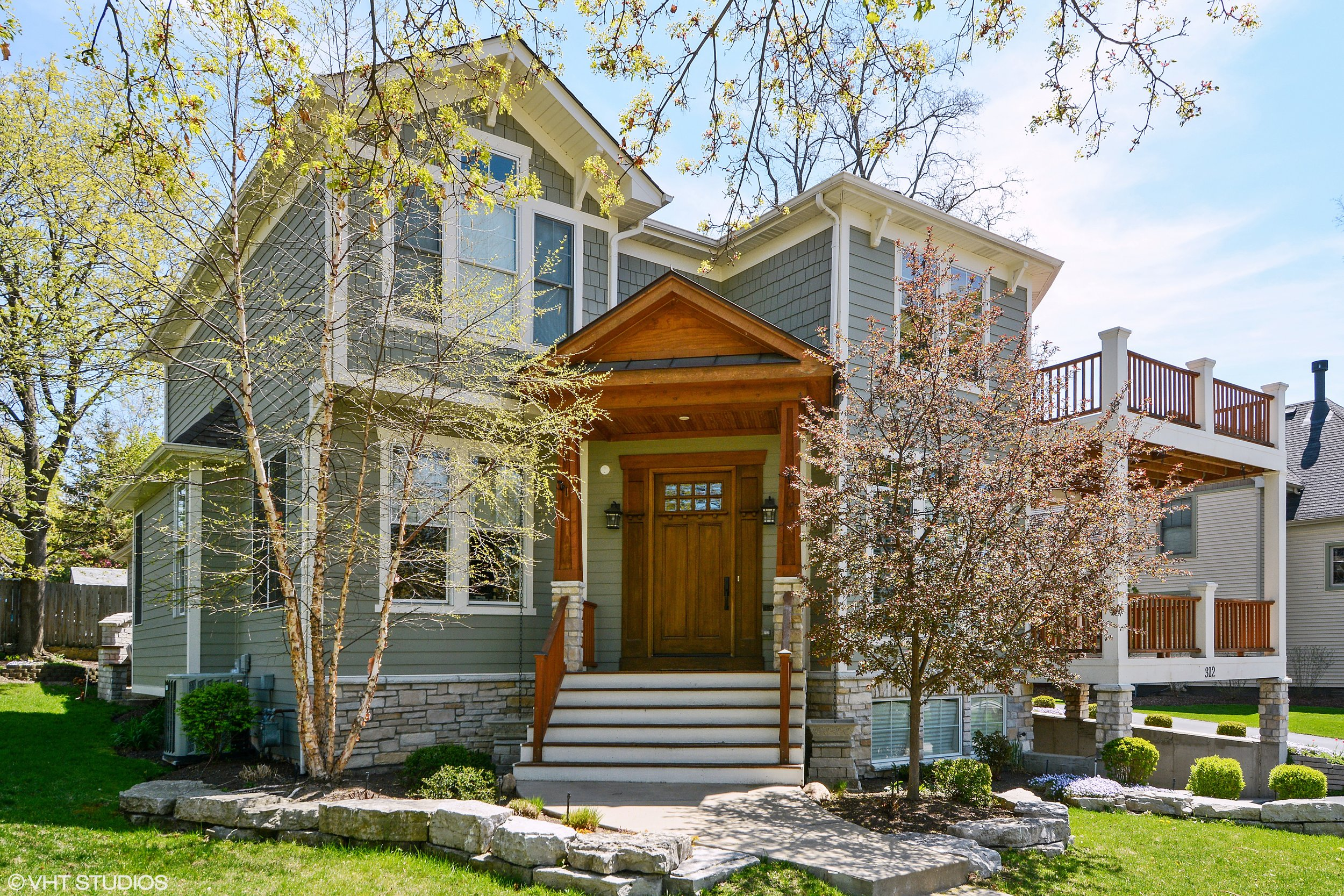 Downtown St. Charles Custom Home by Southampton Builders LLC.  Designed by Jonathan Nutt