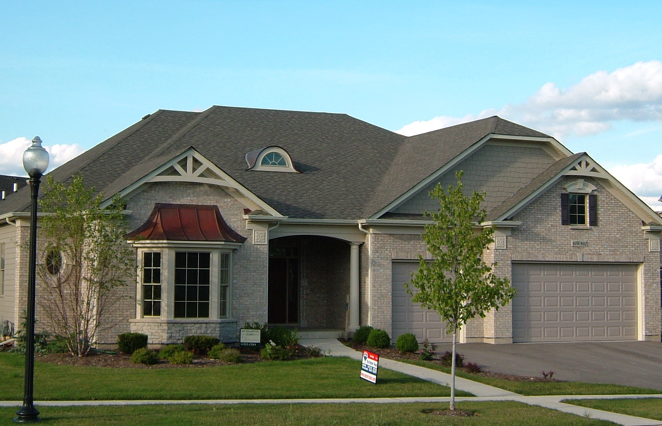 Luxury Ranch Home by Southampton Builders in Fox Creek St. Charles IL 60174