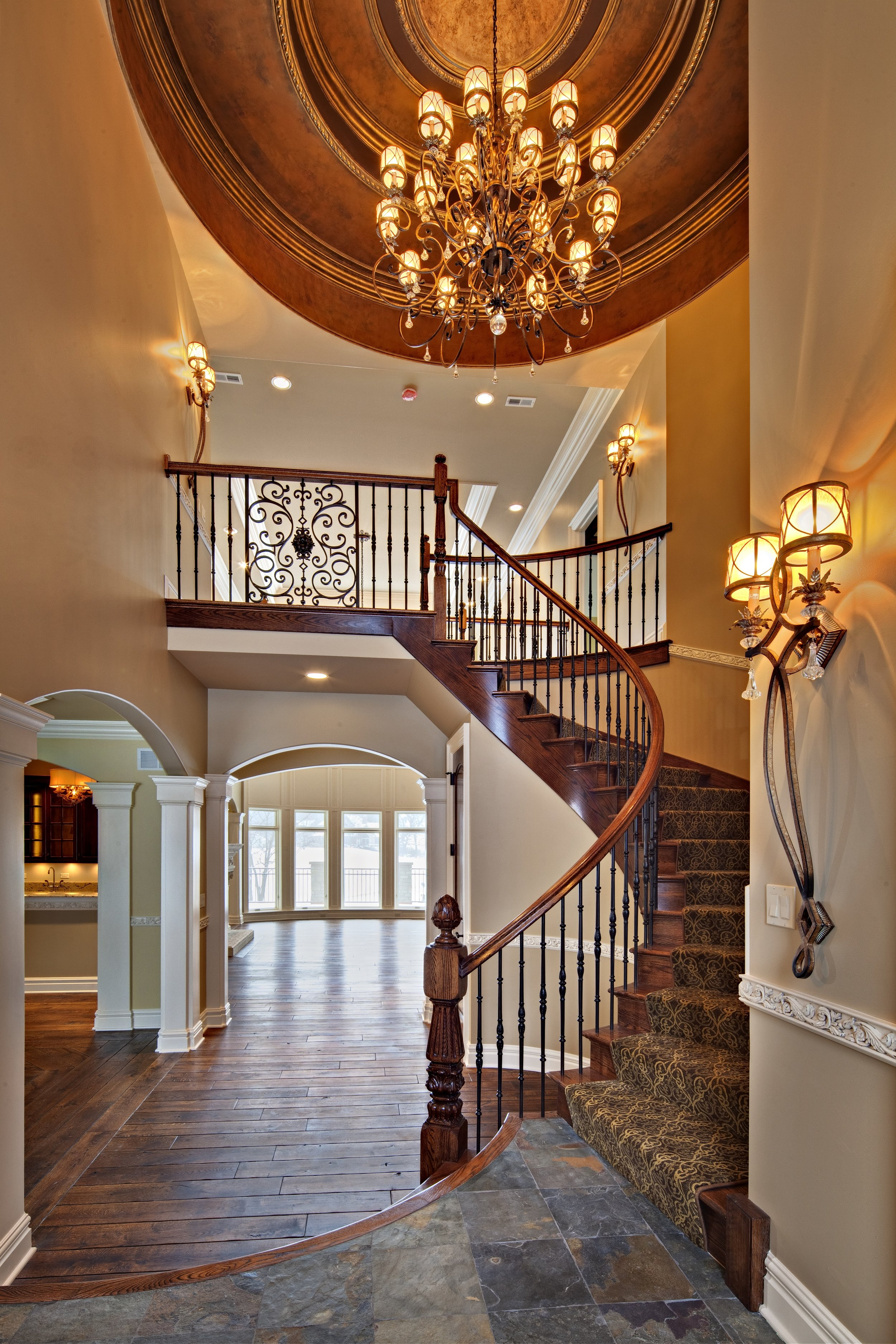 Grand Entry in this Illinois Castle
