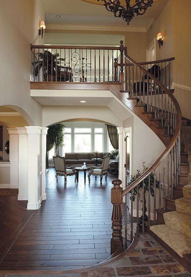 Prairie Lakes Stair Case