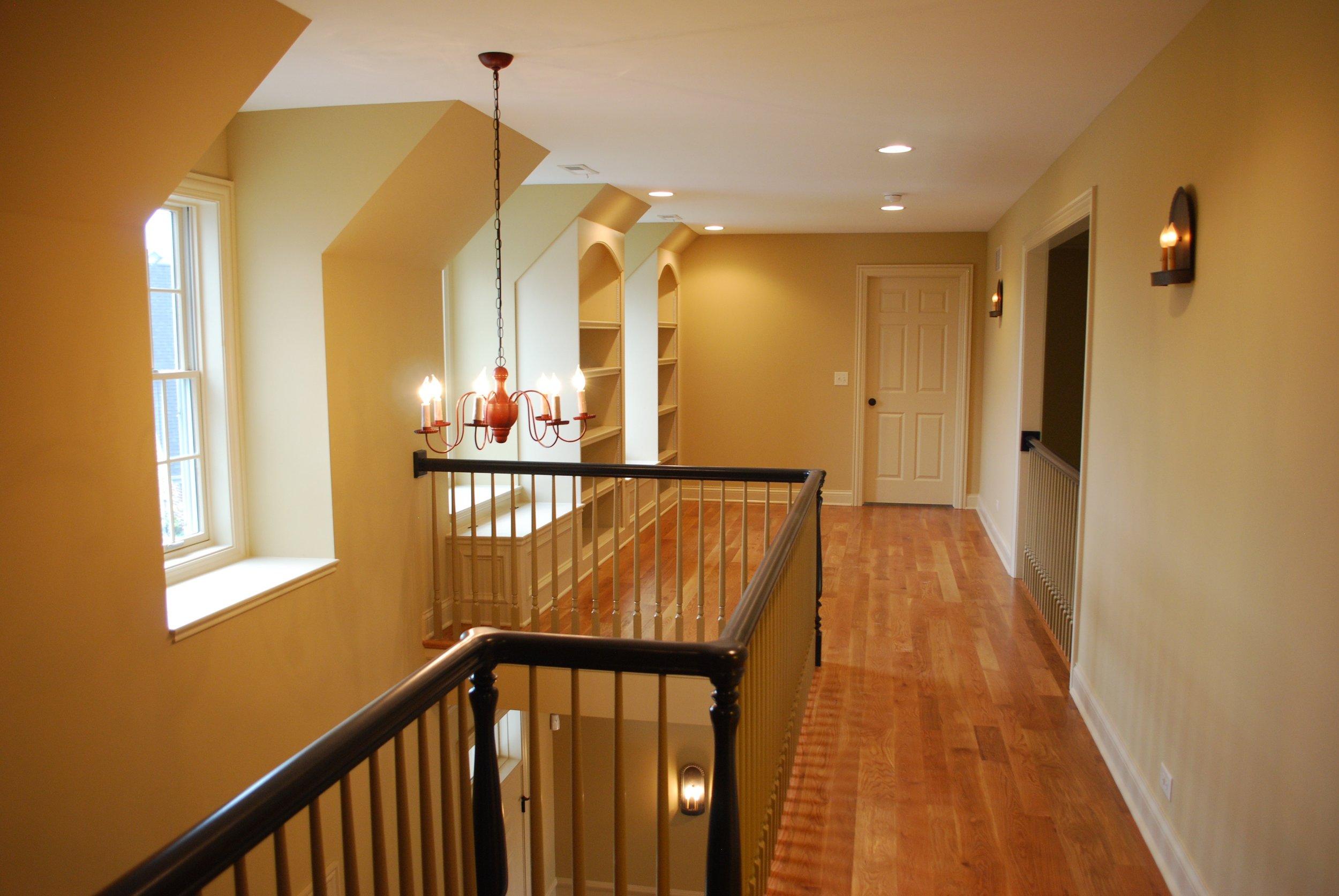 Open Loft in Custom Home