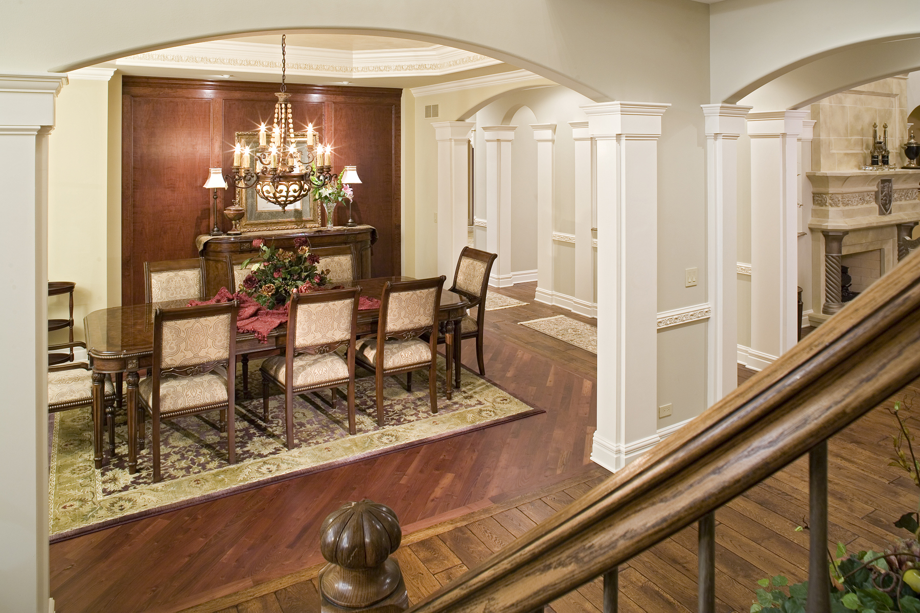 Barrington IL Foyer & Dining Room Remodel