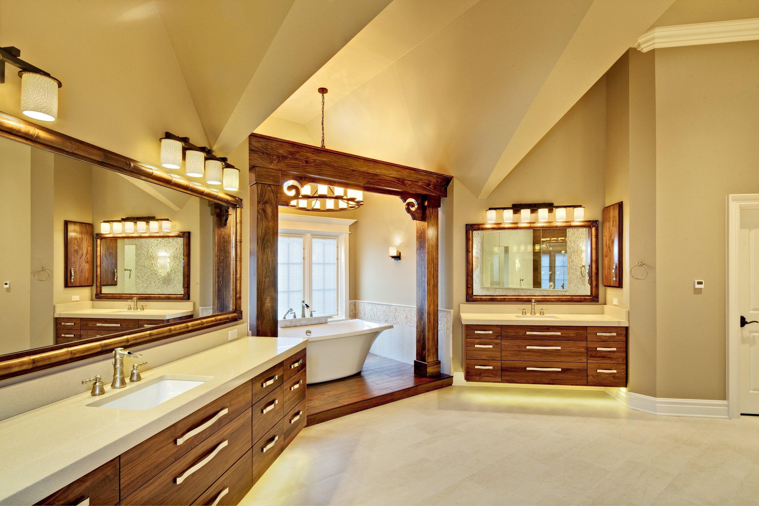 Geneva Illinois Custom Bathroom Remodeling 60134- Southampton Builders LLC.