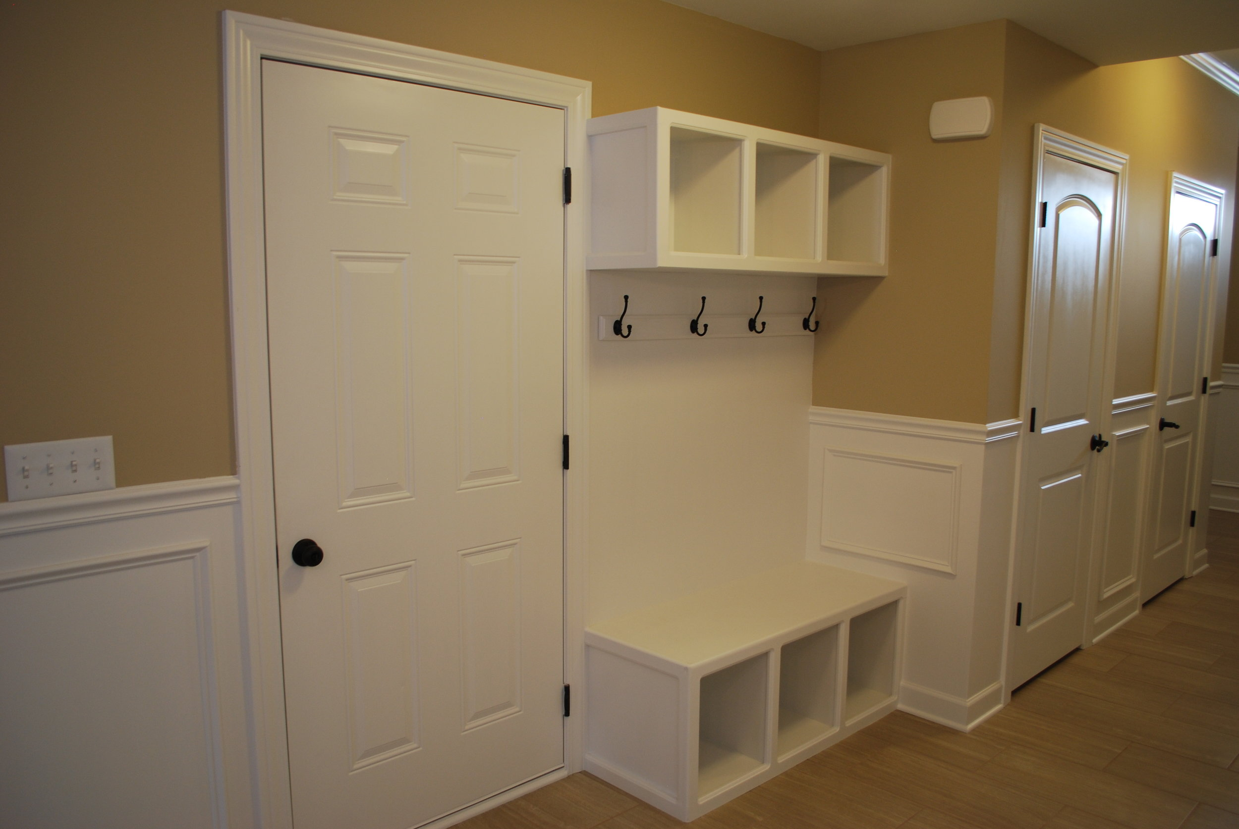 Small Mudroom areas