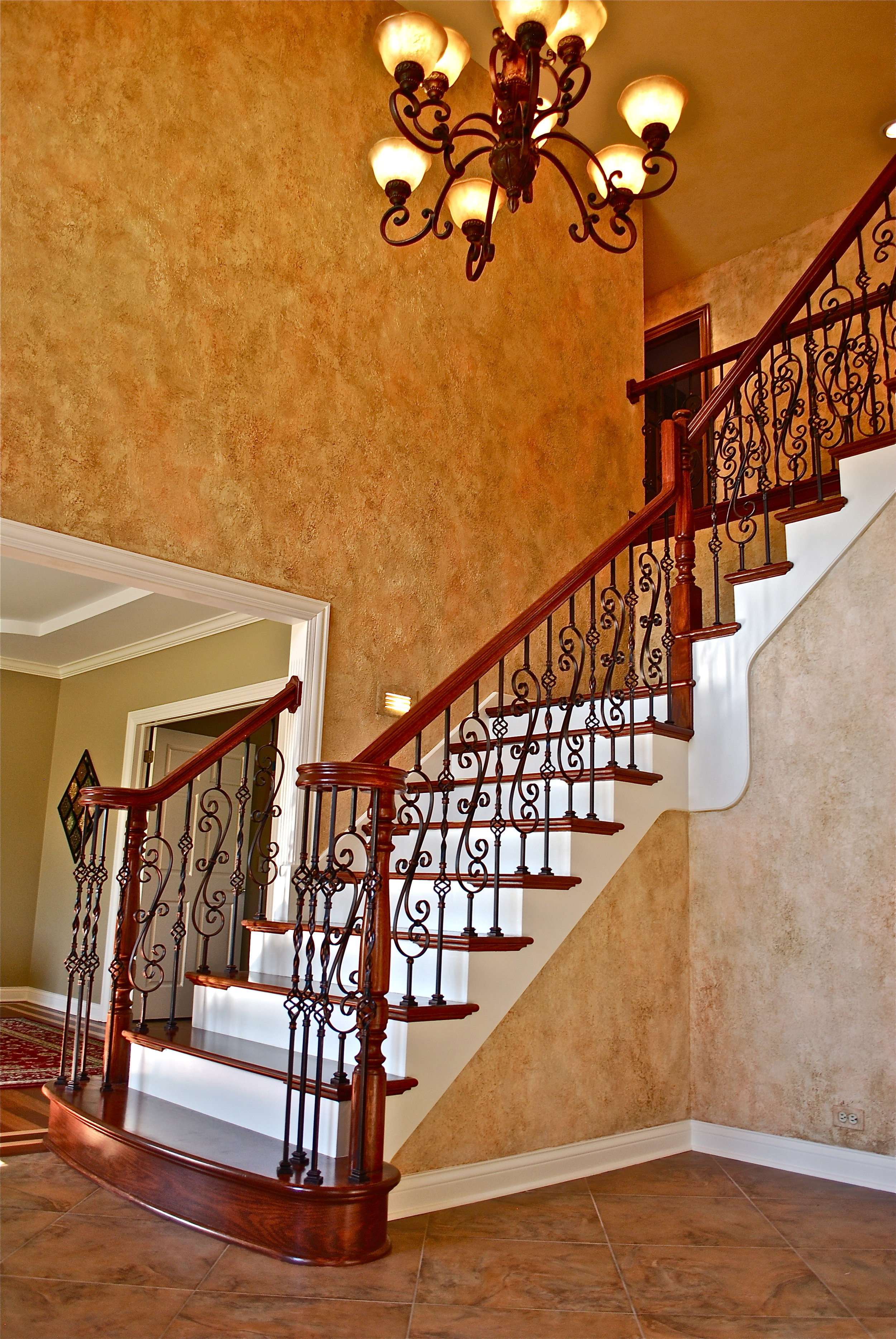 Oakbrook IL Staircase Remodel