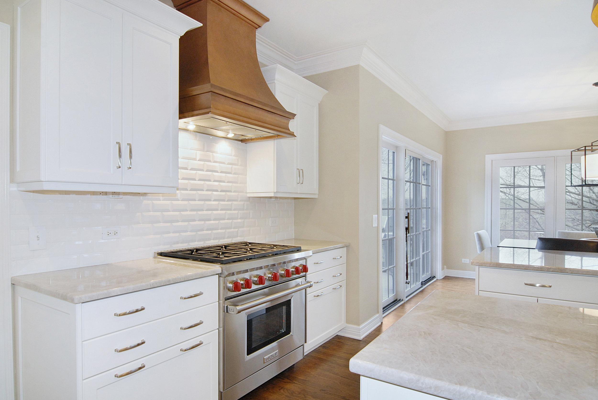 Custom Copper Hood- Southampton Homes