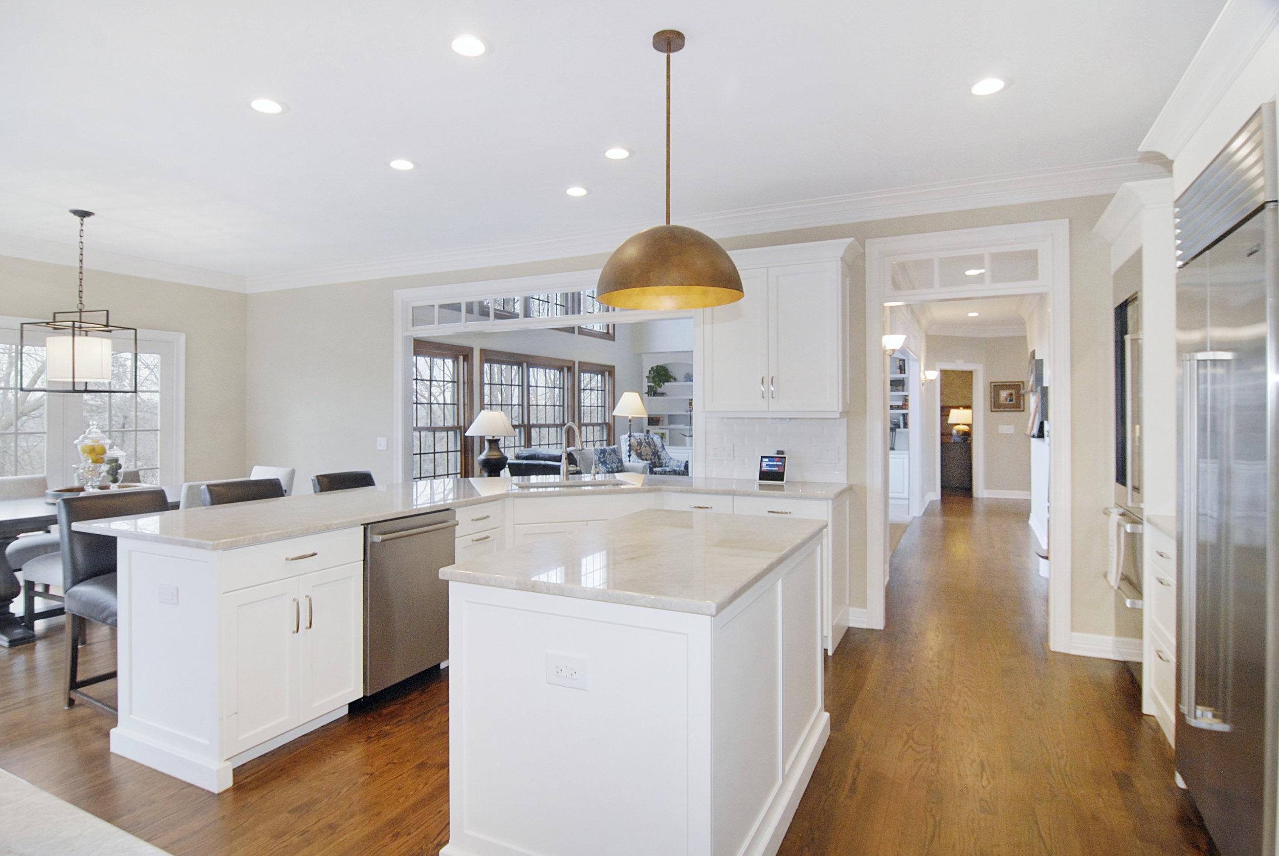 Hinsdale Kitchen & First Floor Kitchen Remodel