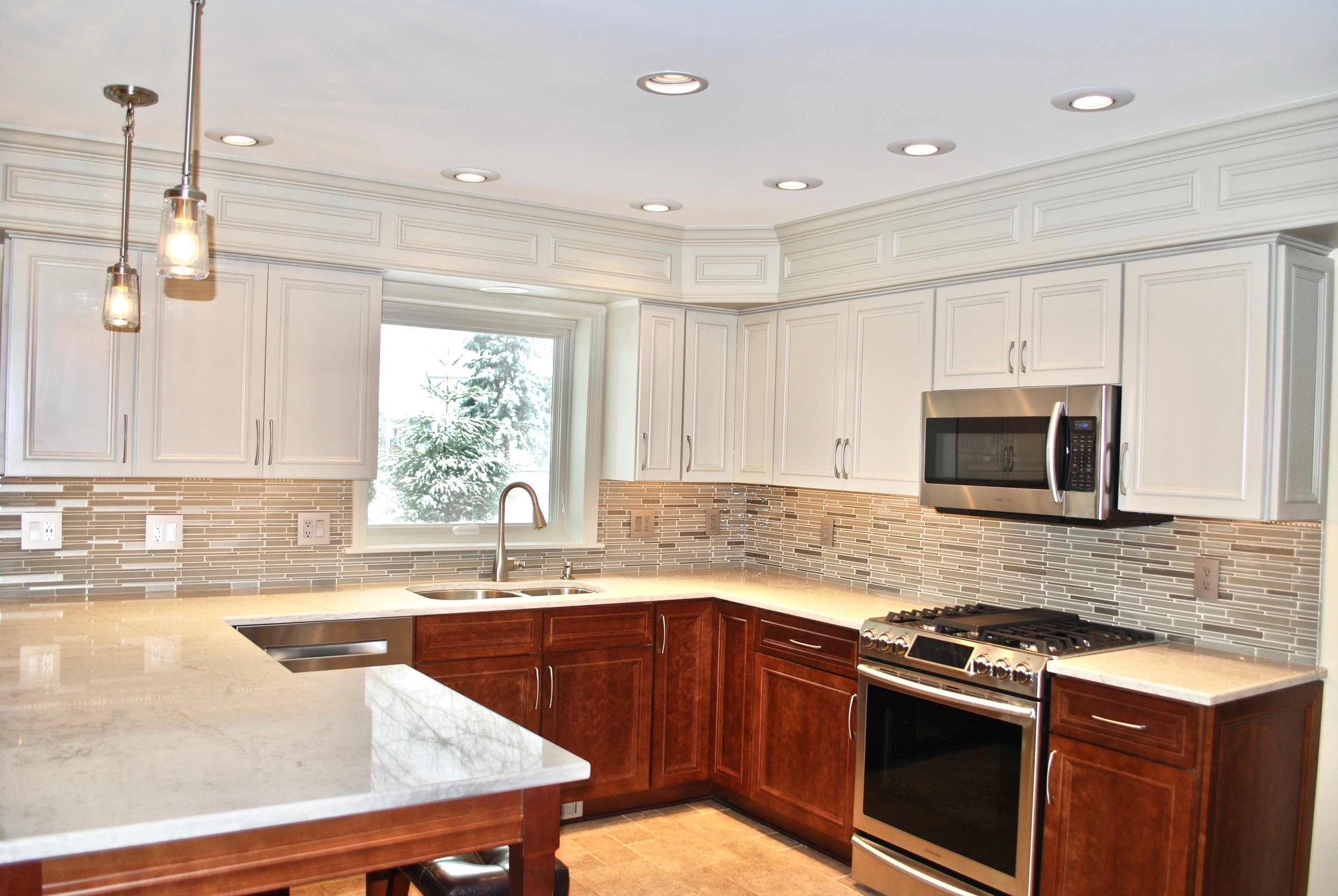 REMODELED GENEVA KITCHEN