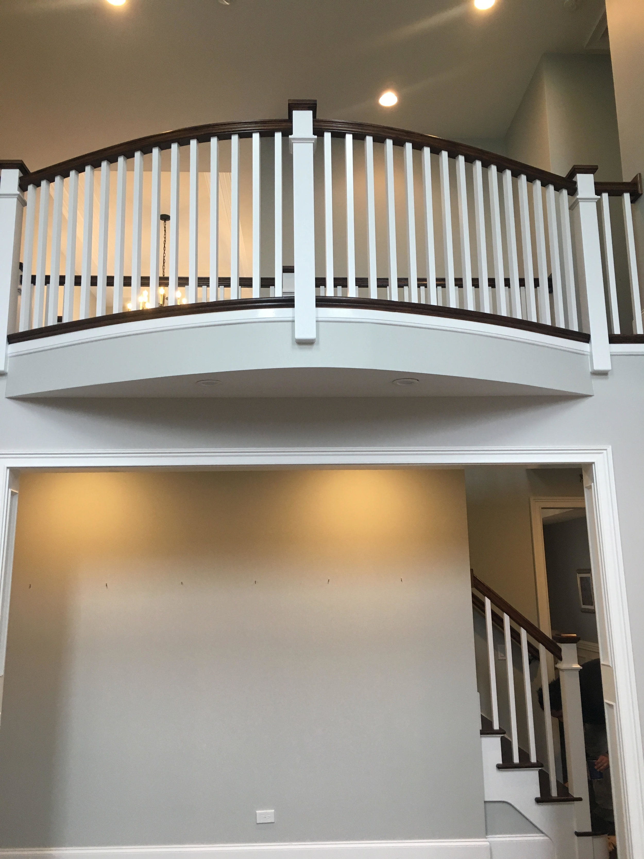 ARCHED BALCONY OVERLOOK REMODEL IN GLEN ELLYN IL.