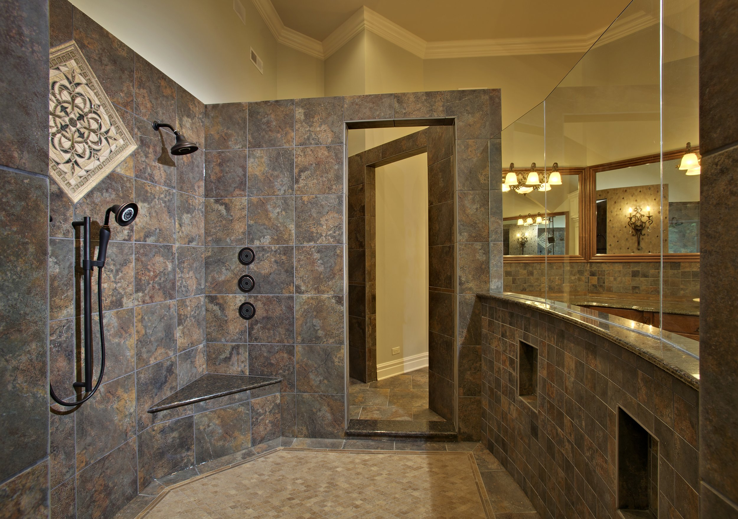 LARGE WALK IN SHOWER ST. CHARLES IL.