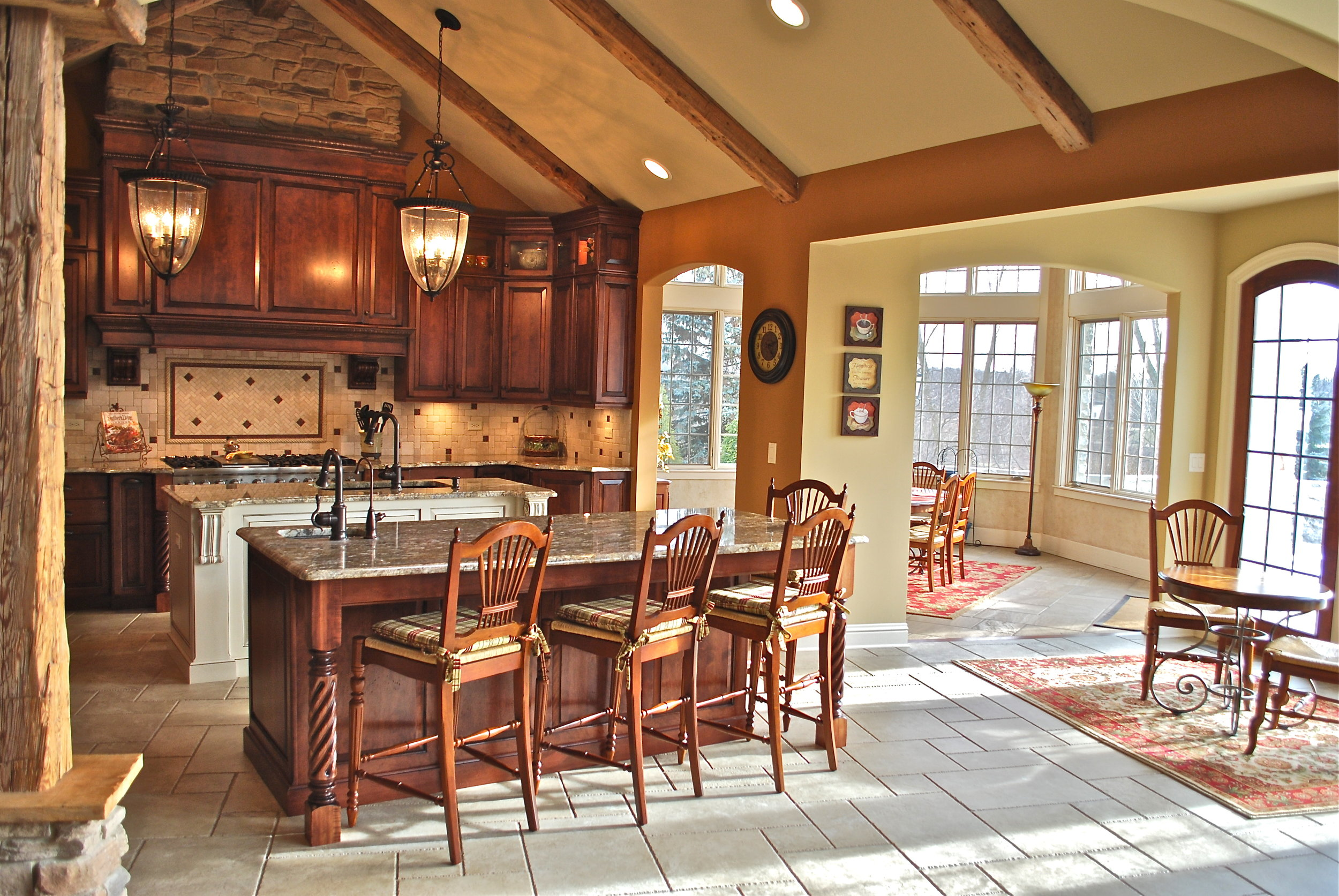 Dream Kitchen inNaperville Illinois. Looking for a Kitchen Contractor? Call Southampton!