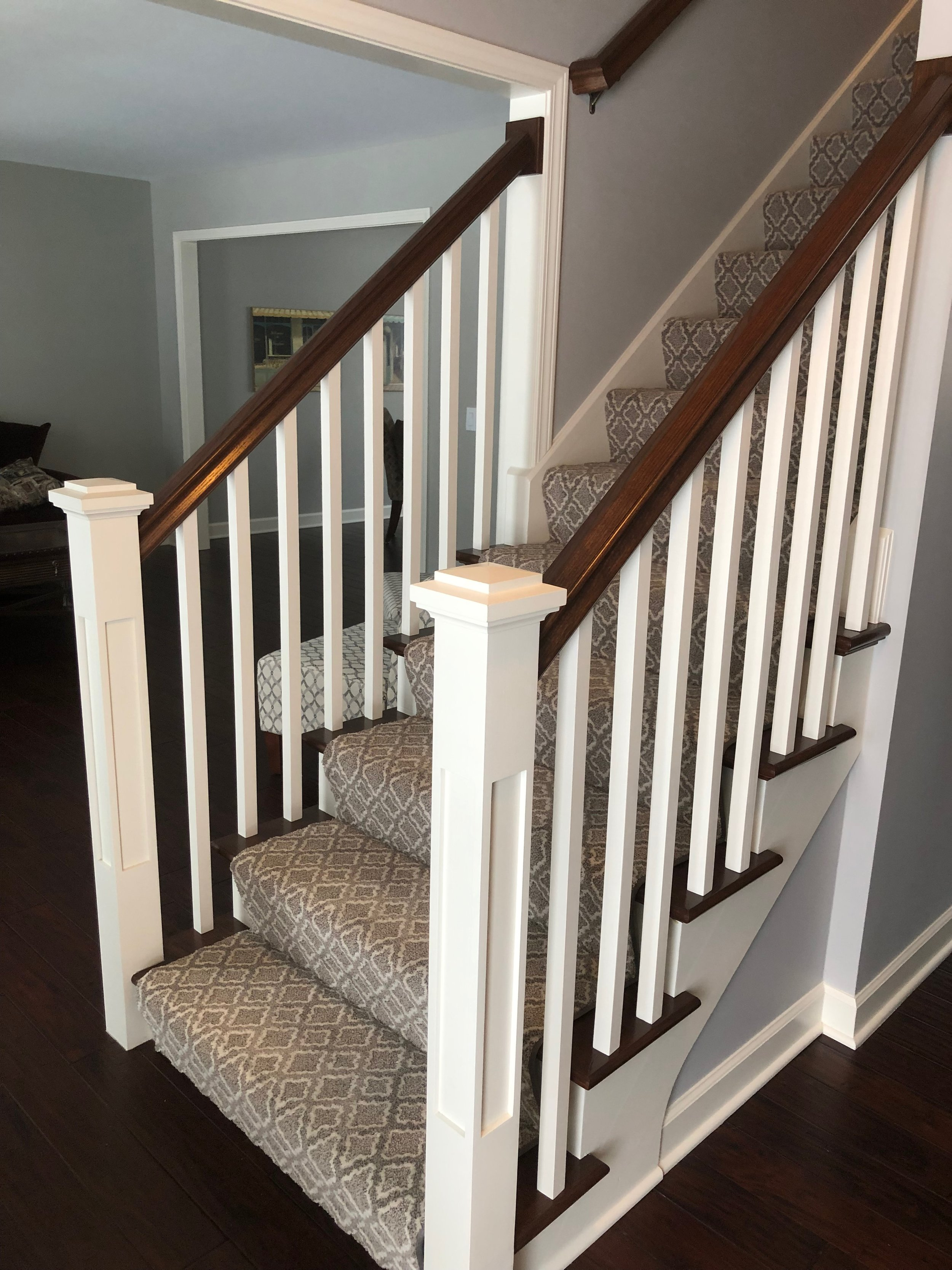 NAPERVILLE FOYER STAIRCASE REMODELING & REPLACEMENT