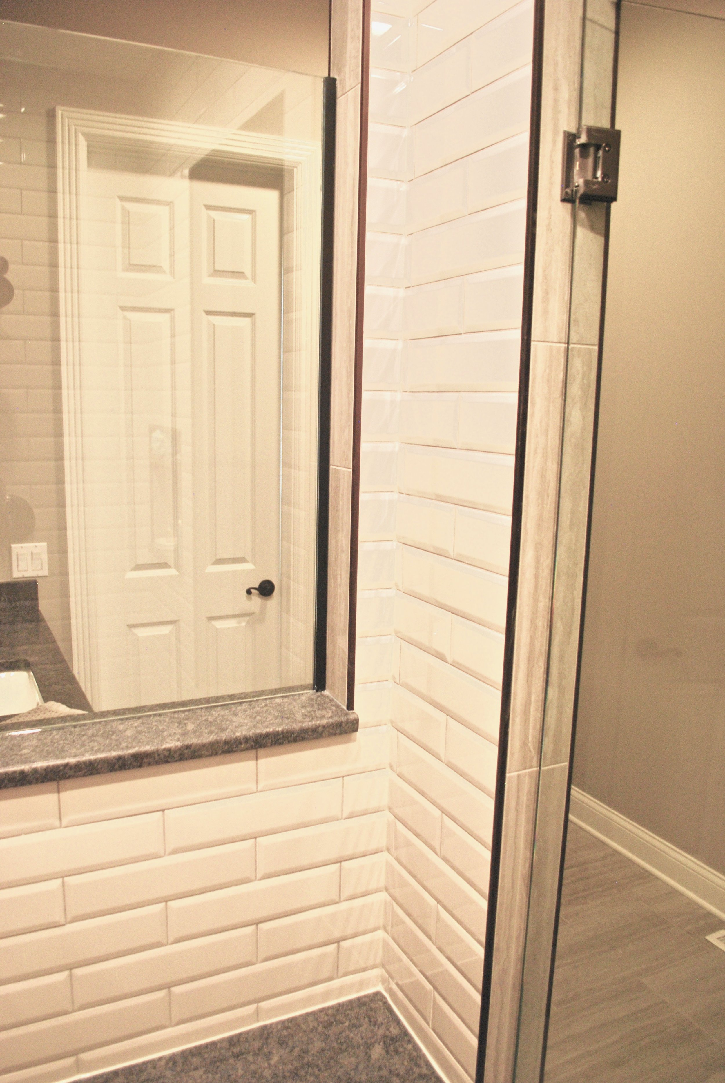 Custom Bath Renovations & Remodeling in this St. Charles Custom Home. Lookin for a Tile Work Professional to Install Tile in Your Shower? Call Southampton