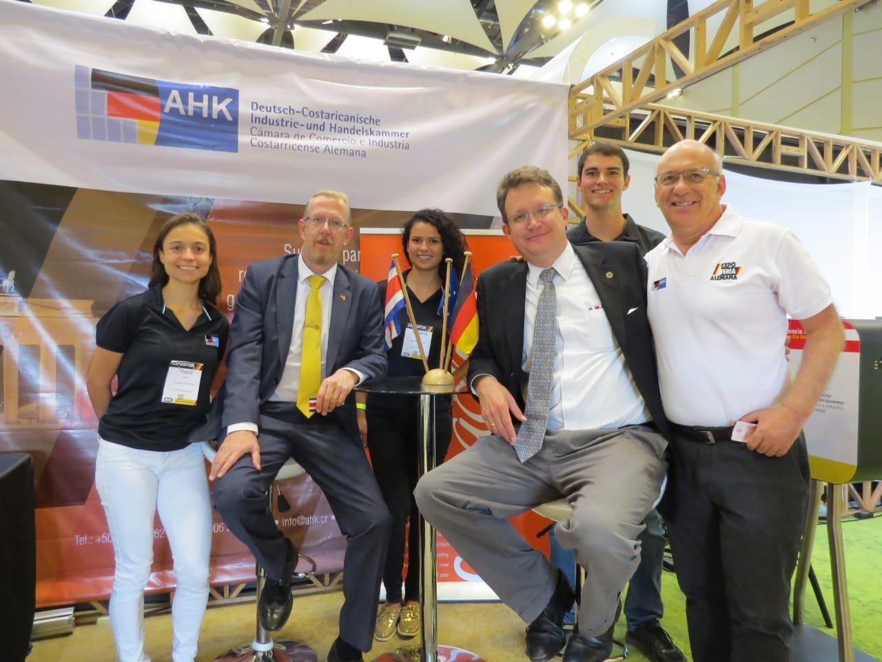 Productos, actividades, charlas y demás actividades con sello alemán le esperan hoy y mañana en el nuevo Centro de Convenciones.