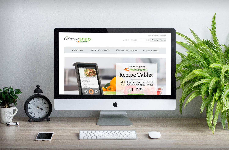 KitchenSnap Web Design -