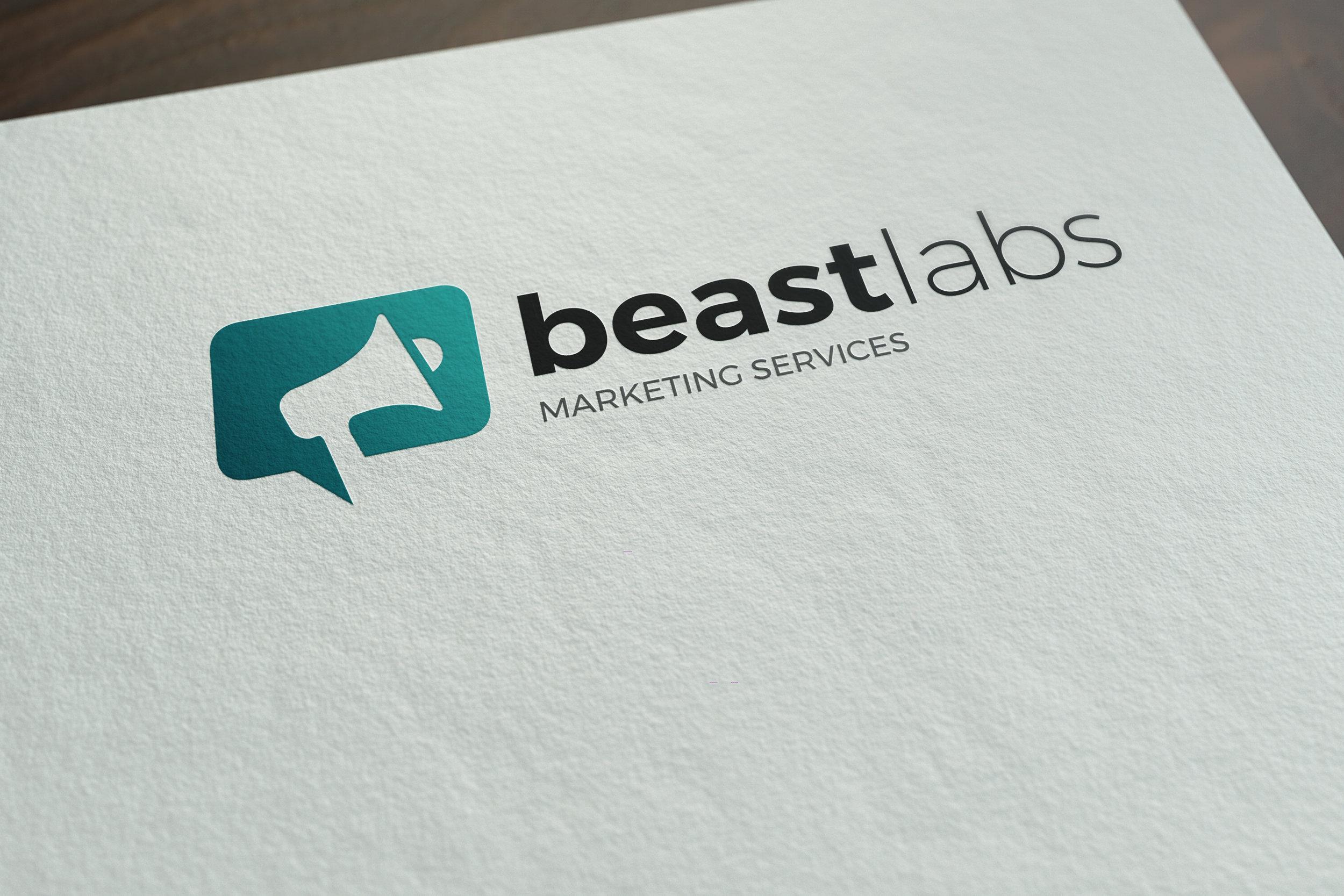 Beast Labs Logo Designs - Logo Design