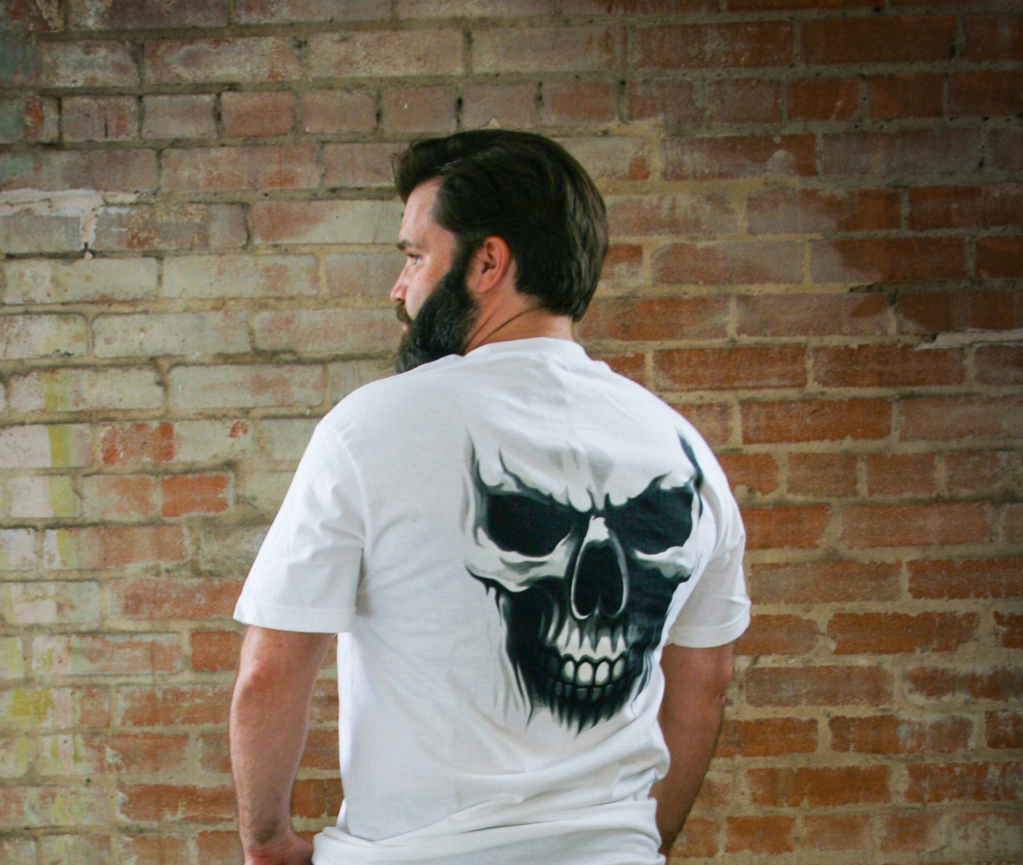 Ghost Skull available in short or long sleeve M-3X