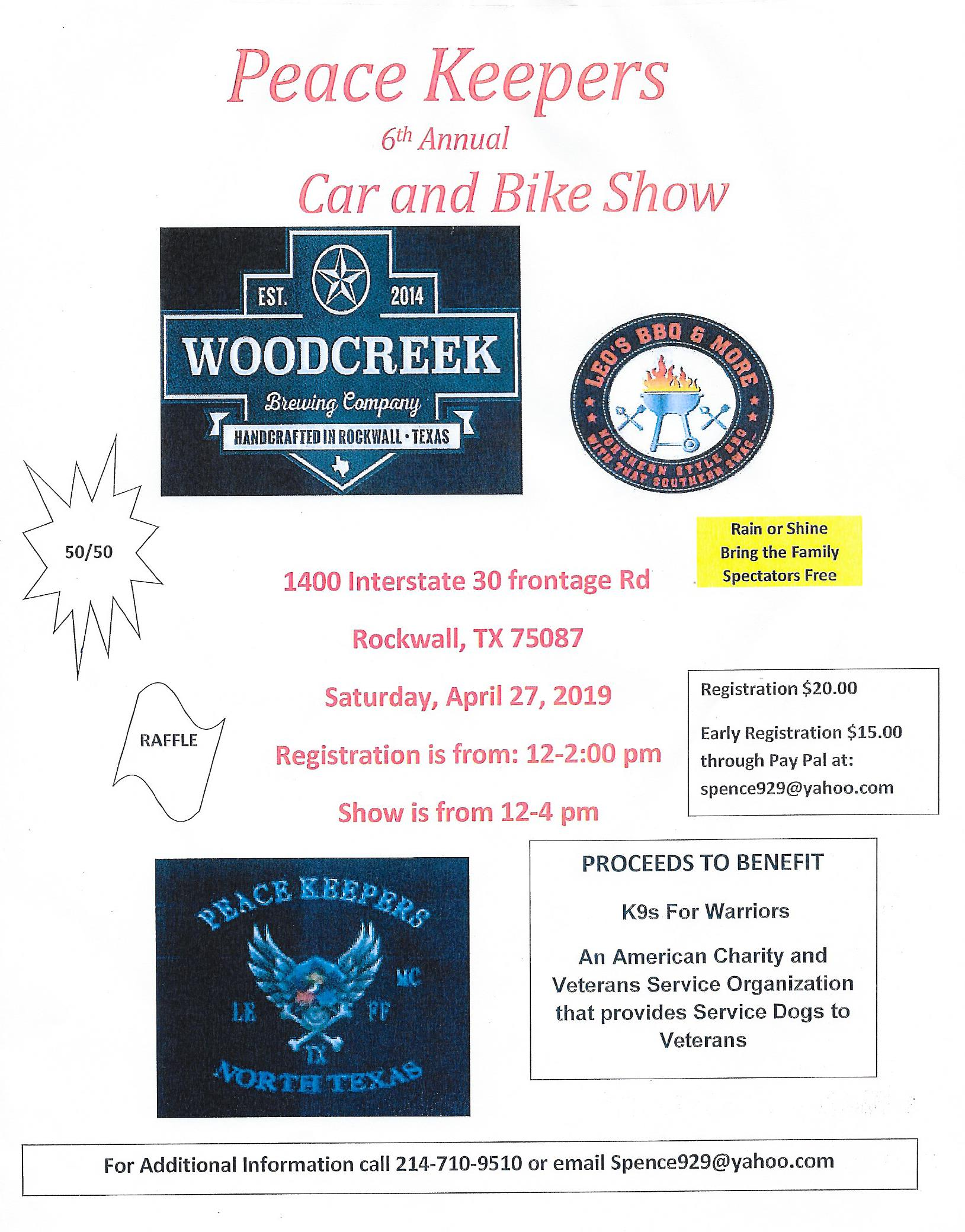 Peace Keepers Car and Bike Show April 27th.jpg