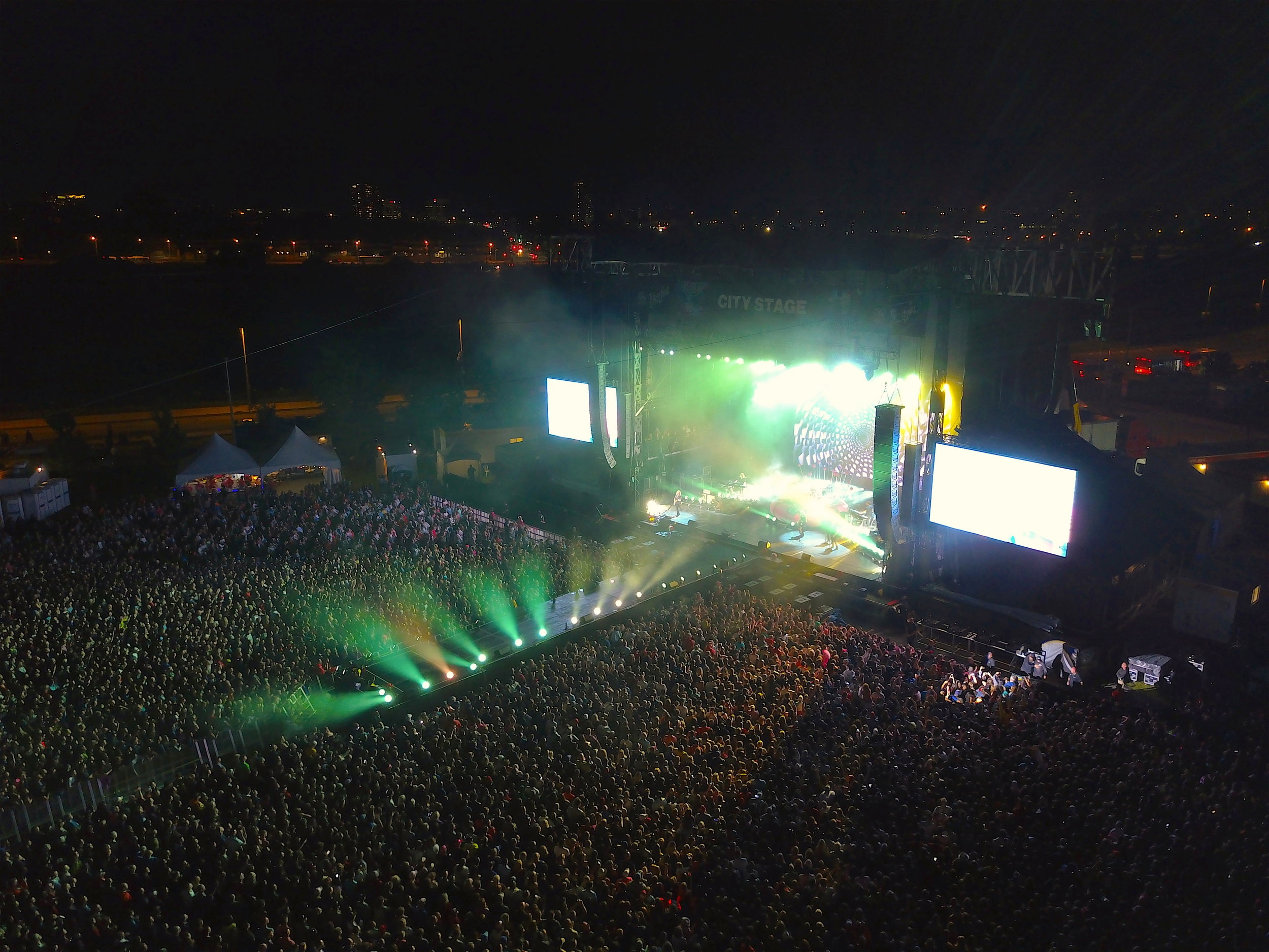 Marketing - A major music festival joined forces with us to further promote their venue in an innovative way. We were able to showcase the entire site, massive crowds and all-day fun, with professional post-production. The client received a complete turn-key promotional package with rapid turn-around time.