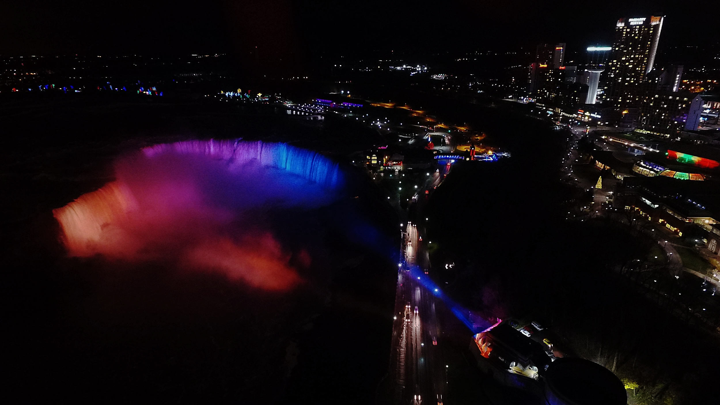 Niagara Falls Illumination -
