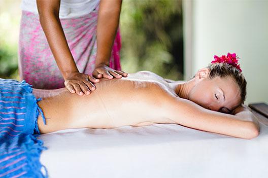 spa treatment peace retreat