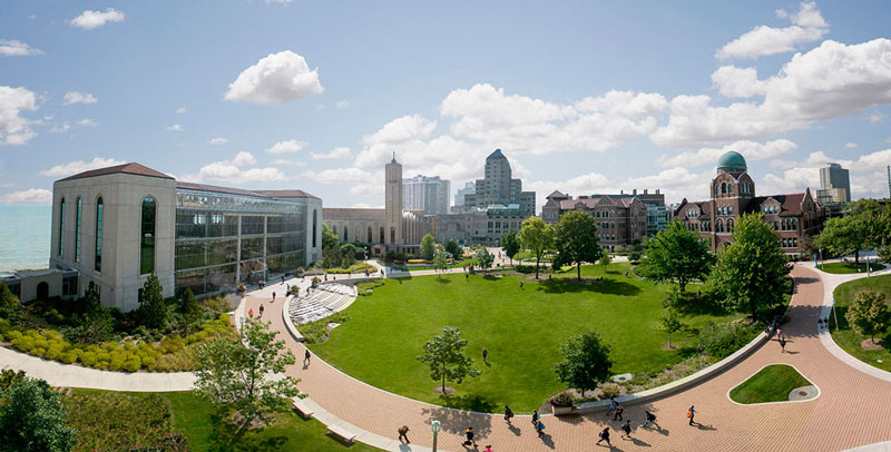 Loyola University Chicago - Contact: Luke Turley▸ Small Groups | On Summer Break