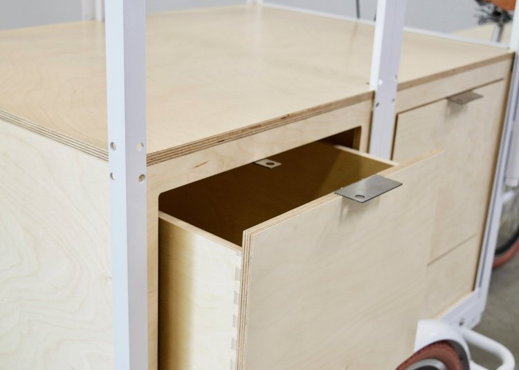 Workshop CA Drawer Open