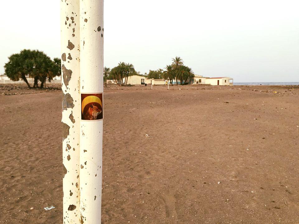 Kaylee Johnson, A soccer field in Sagallou