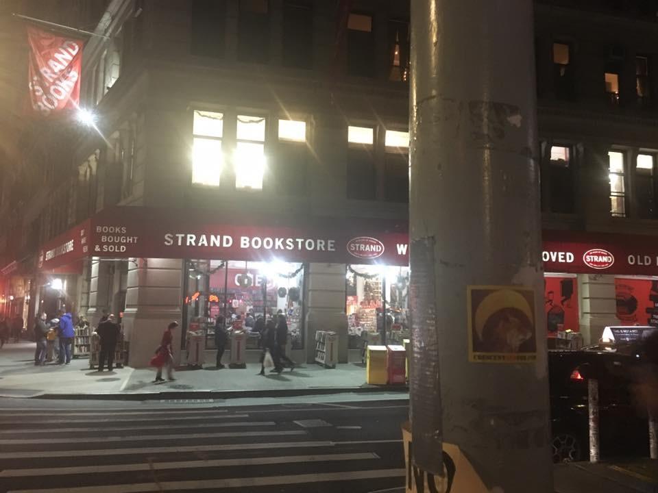 Strand Book Store  NY, NY