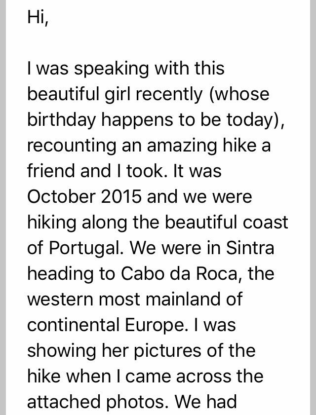 Ahmed, Cabo da Roca, Portugal, October 2015