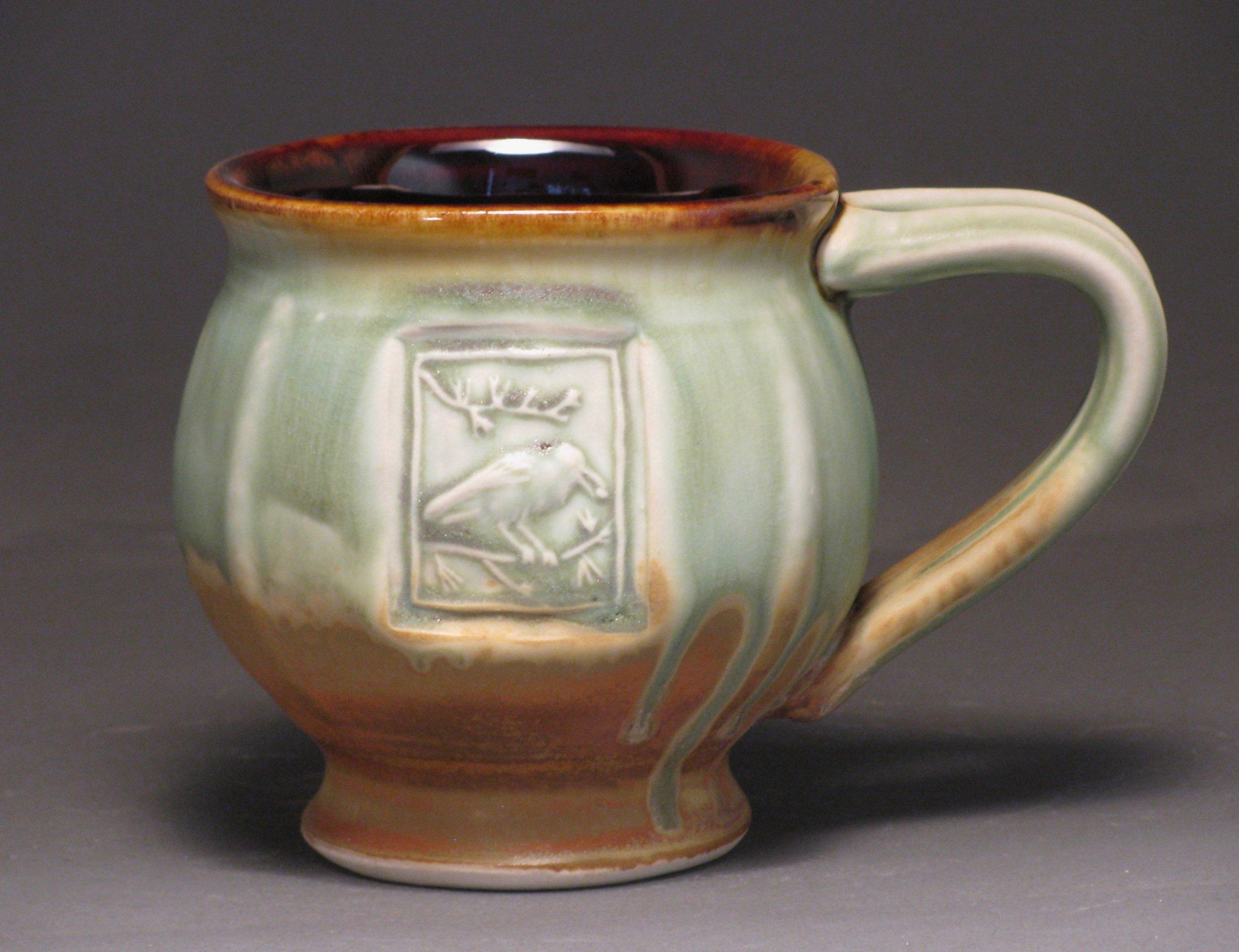 Mug with Clark's nutcracker