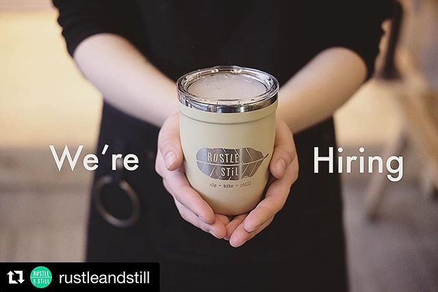 Our friends @rustleandstill are hiring! details 👇 #torontocoffeejobs  #Repost @rustleandstill with @get_repost ・・・ Hello 👋 We 👋 Are 👋 Hiring  We're looking for an experienced PT/FT Barista to join our team!  If you truly love making great coffee, care about customer experience and enjoy a fast-paced cafe environment, WE WANT YOU!  Send us your resume to info@rustleandstill.com, and please help to share this! 🤗  Thank you! ☕️🥖🍃 #SipBiteChill #RustleandStill #torontocoffeejobs #torontocoffeecommunity