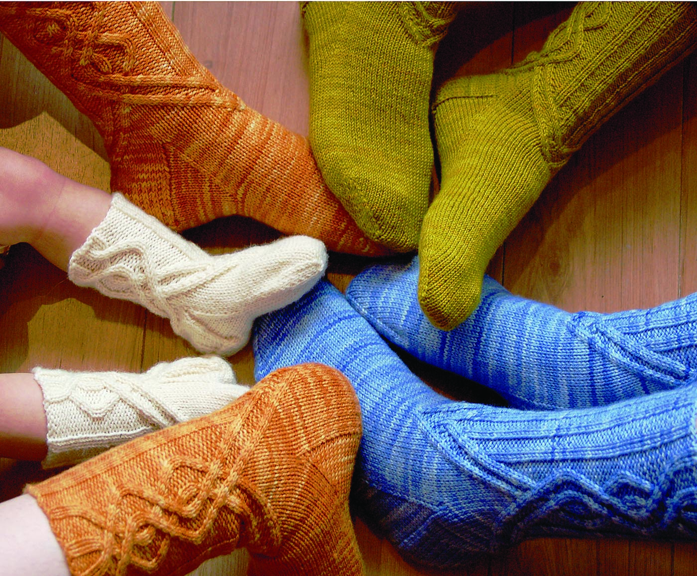 Journey Cable Socks