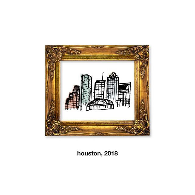 "114. ""home"" – crudely drawn city 03 #houston #dailydesignchallenge"