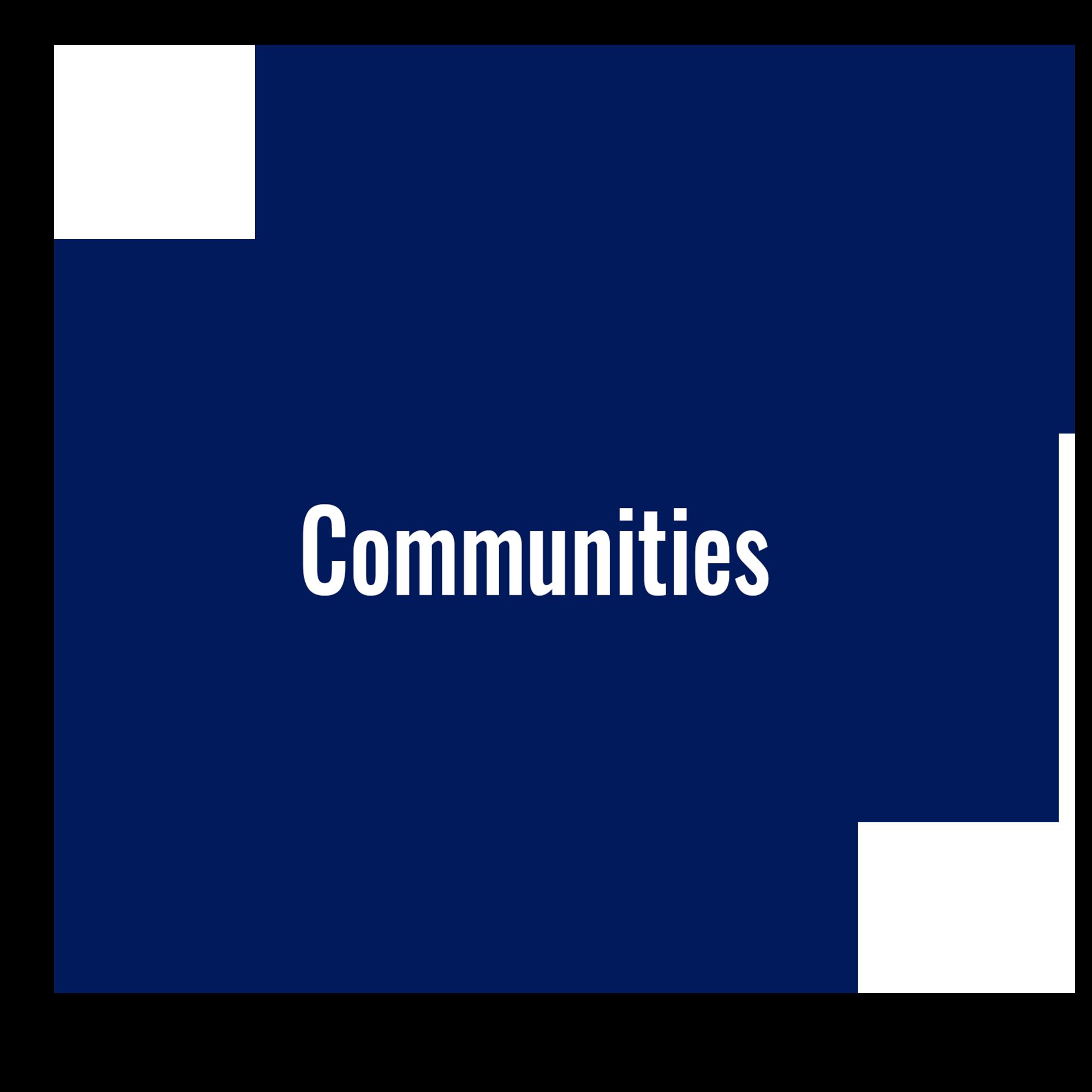 Communities circle