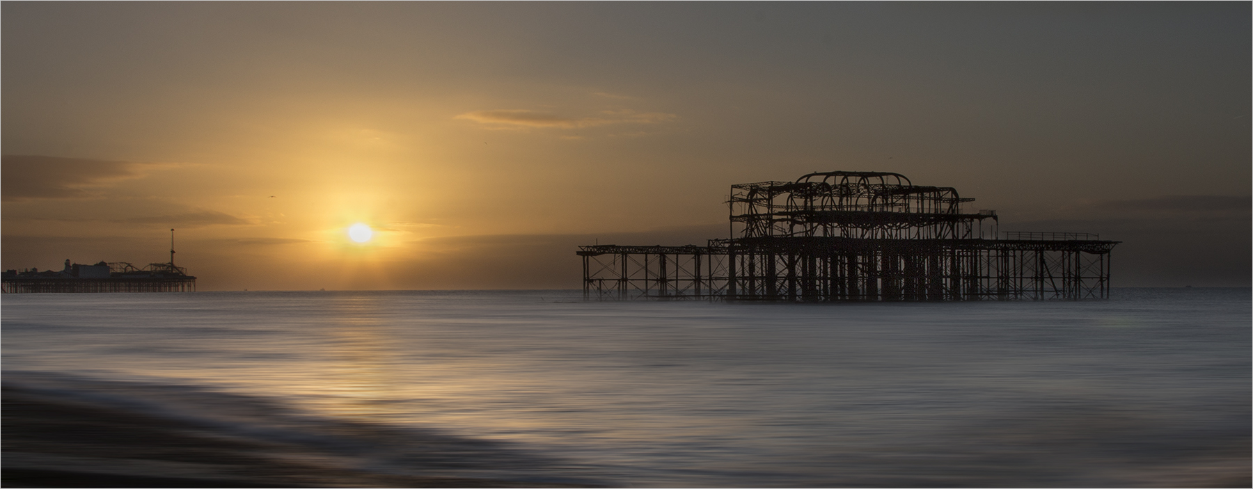 Brighton Pier by Ian Brash