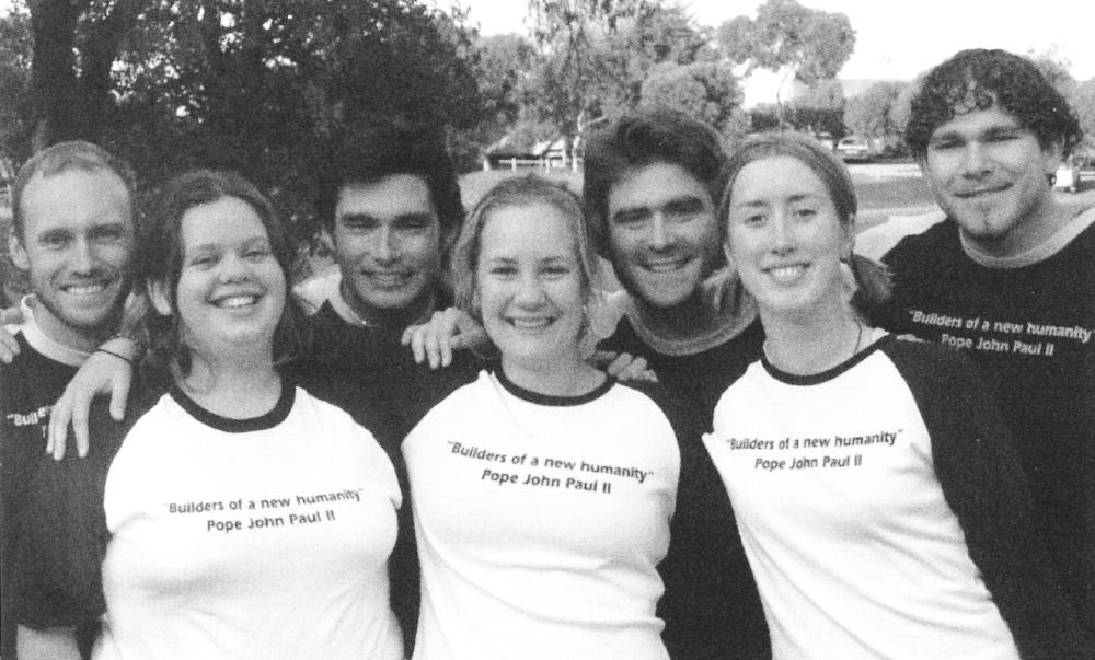Left to Right: Blair McWhinney, Liz Donnellan, Jude Mackin, Nikki Harris, Steve McKinley, Bernadette Hevern, Fenton D'Antoine
