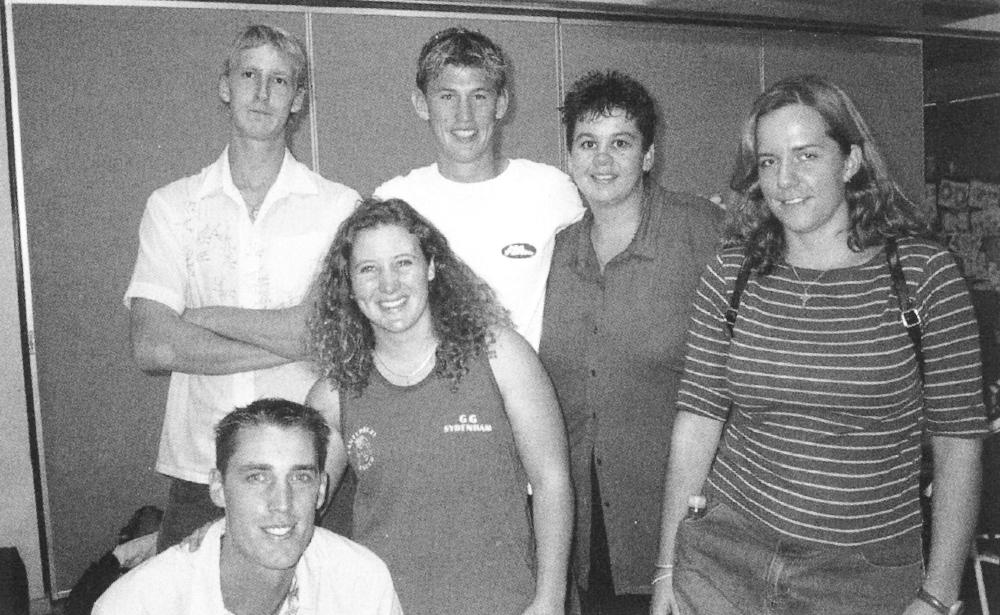 Back Row: James Howe, Joseph Frick, MJ Donellan, Michaela Hughes Front Row: Samuel Clear, Trish McCarthy