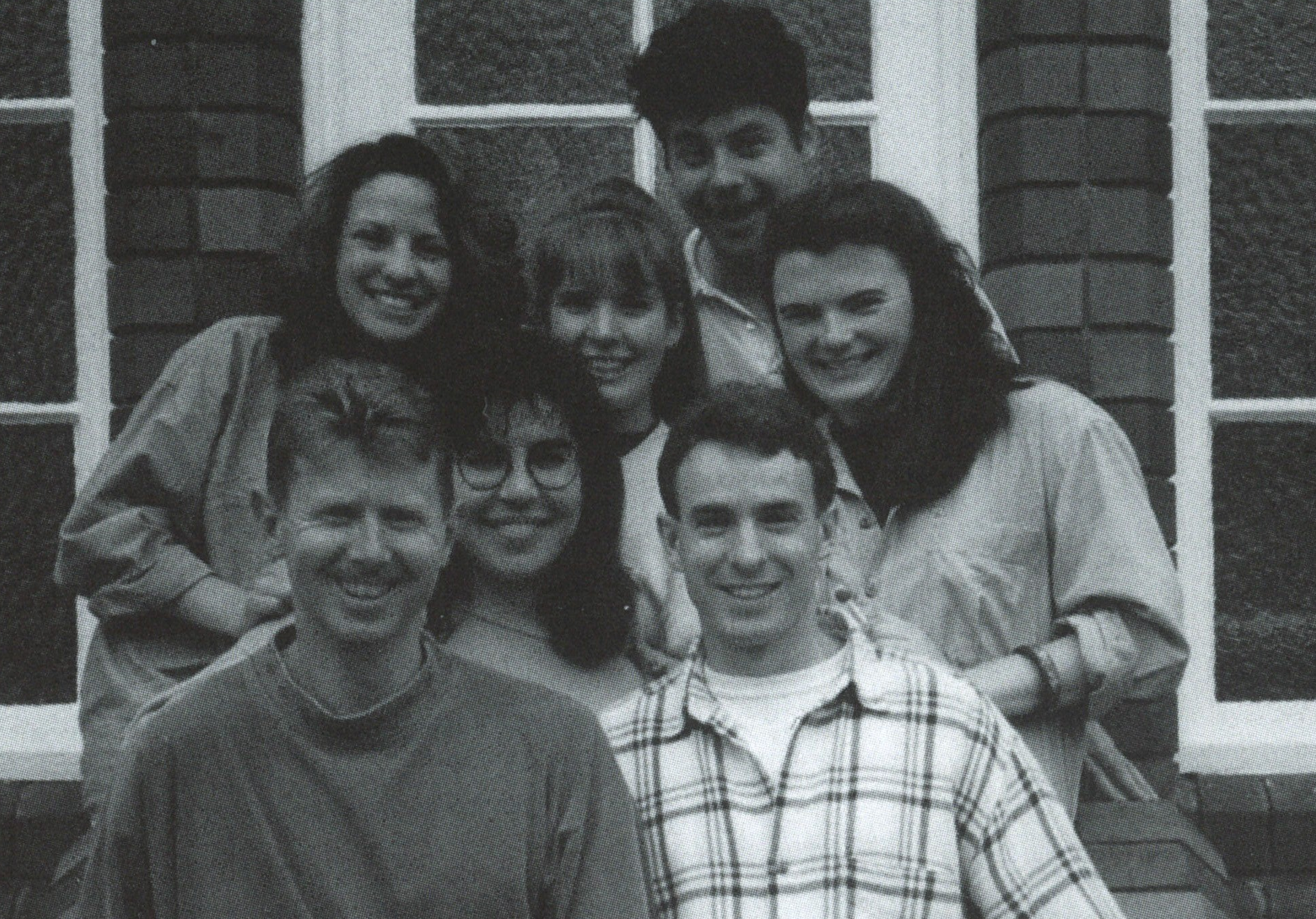 Back Row: Audrey Dean, Henrietta Brennan nee Harris, Matthew Brookes, Carla Brookes nee Whitelock Front Row: Simon Nye, Selina Hasham, Steve Toohey (National Director/Team Manager)