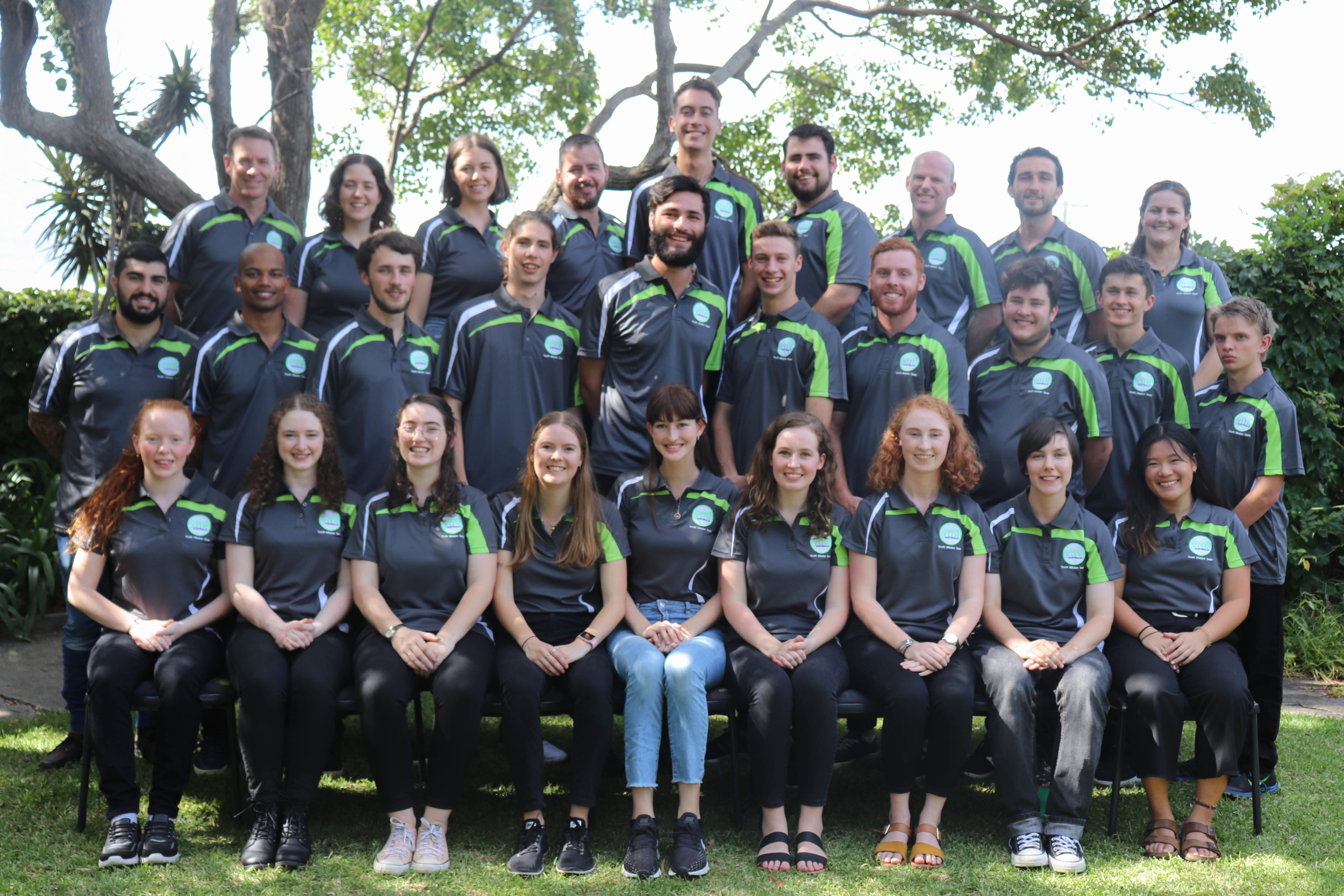 Top Row: Steve Toohey, Genevieve Schaefer, Louisa Daniels, Peter Dominish, Andrew Placko, Joshua Hunter, Tim Fitzwiliam, David Pullella, Christy Honeysett Second Row: Joshua Natoli, Sunny Fernandez, Luke Schaefer, Joseph Phillips, Dominic Drumore, Samuel Clare, Andrew Toohey, Chris Galea, Anthony Bolling, Aaron Walsh Bottom Row: Rachel Walsh, Therese Ward, Jessyka Jakovcevich, Lauren Bailey, Catherine Sardinha, Madelyn McDermott, Antoinette Collins, Eilidh Direen, Nathlene Ng