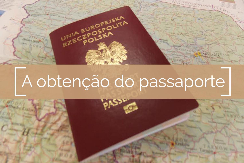 A obtenção do passaporte