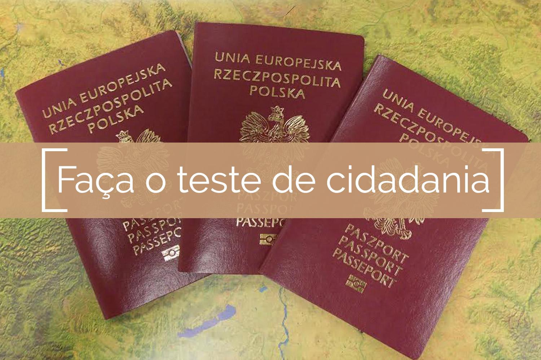 Faça o teste de cidadania hoje mesmo -PolandPassport.com