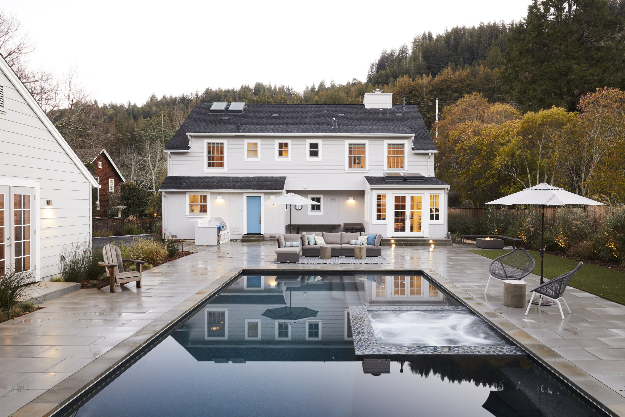 Complete renovation of a 4500 sqft, 5 bed, 3.5 bath home in Marin, CA