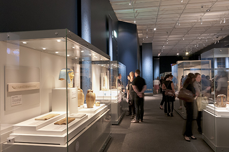 Amelia Brown: Visitors in an Egyptian exhibition at Queensland Museum   https://recollections.nma.gov.au/issues/volume_8_number_1/exhibition_reviews/mummy_secrets_of_the_tomb