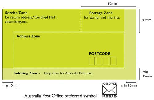 Australia Post Preferred Envelopes