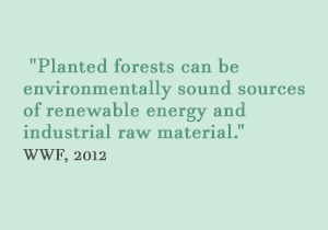 Planted forests can be environmentally sound sources of renewable energy and industrial raw material, WWF 2012.JPG